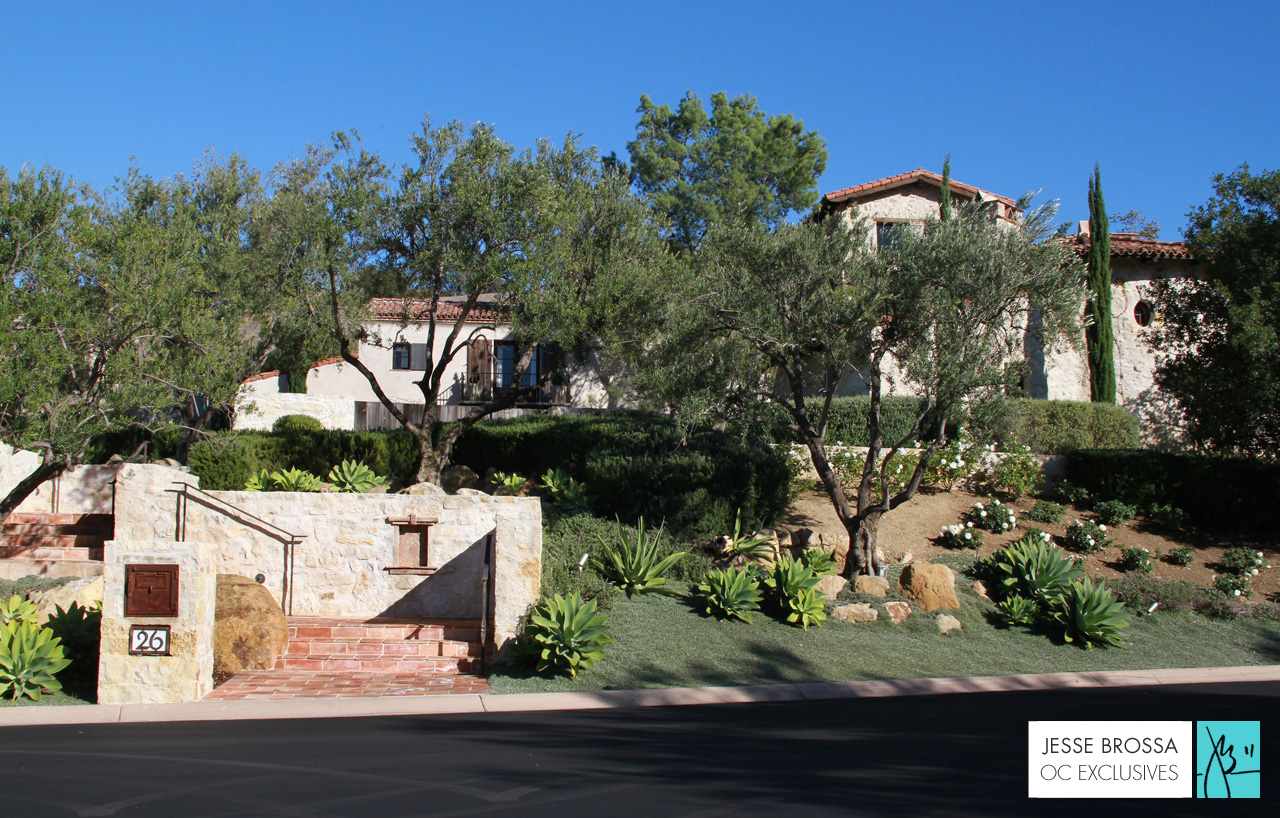Custom Architecture & Homes in Shady Canyon, Irvine